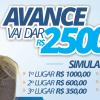 SIMULADO R$ 2.500,00 AVANCE 12/nov